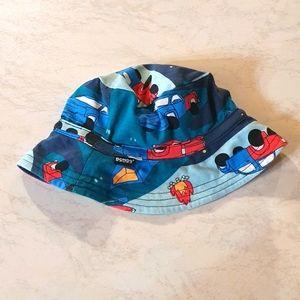 BONDS size M kids bucket hat with car print